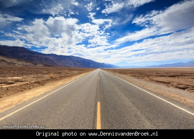 Badwater Road - Death Valley