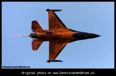 Onderkant F-16 Solo Display