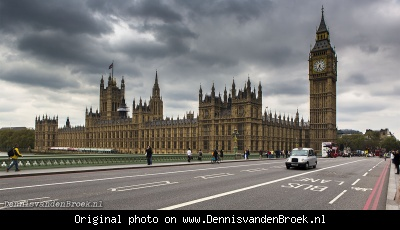 House of Parliament en de Big Ben