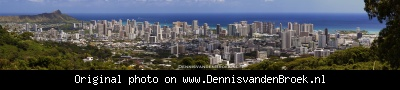 Panorama Honolulu Round top drive