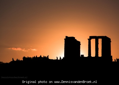 Tempel van Poseidon in Sounion