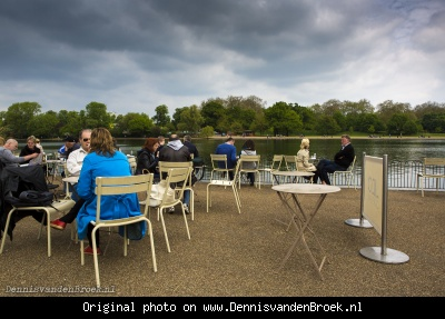 Terras bij Lido Cafe Bar in Hyde Park