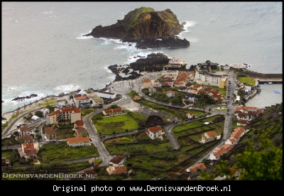 View over Porto Moniz