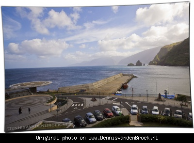 View from room at Hotel Moniz room 303 - Porto Moniz - Madeira