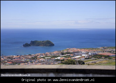 View of Ilheu de Vila Franca do Campo