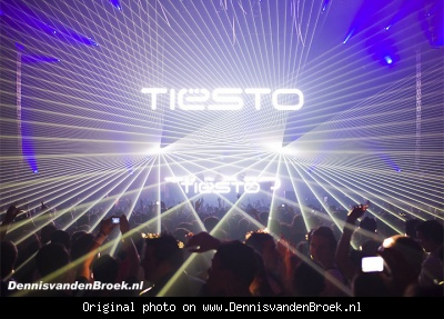 Lasershow Tiësto - In search of sunrise - Sportpaleis Antwerpen